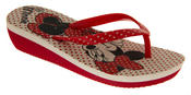 Girls Disney Minnie Mouse Daisy Duck Flip Flops Beach Sandals Thumbnail 2