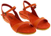 Womens BETSY Low Wedge Sandals Ladies Summer Slingback Shoes Size 3 4 5 6 7 8 Thumbnail 7