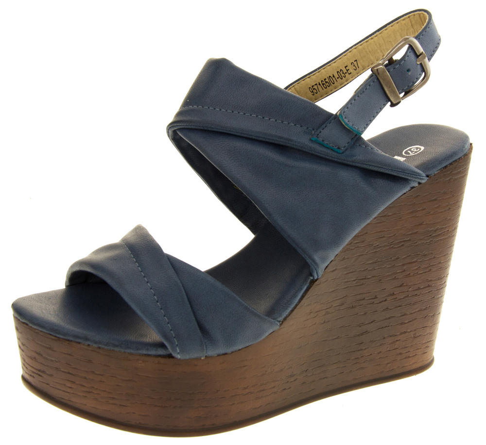 Ladies BETSY Platform Wedge Sandals