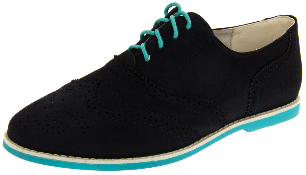 Womens Leather Lined Oxford Brogues