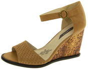 Womens Platform High Heel Wedge Sandals Thumbnail 1