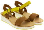 Womens BETSY Wedge Heel Strappy Sandals Thumbnail 5