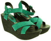 Ladies Wedge Platform Strappy Sandals Thumbnail 11