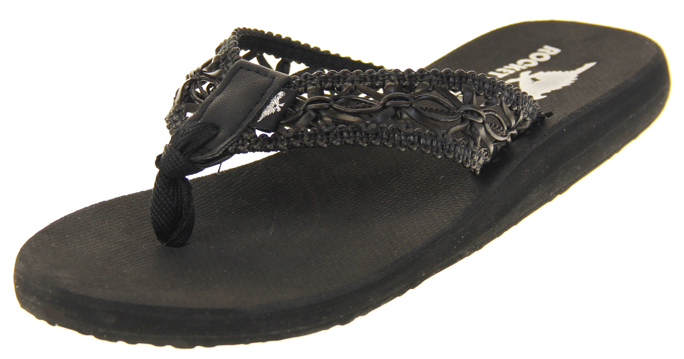 21efd6c48aa63 Womens Rocket Dog Summer Holiday Toe Post Mule Sandals Shoes Size 3 4 5 6