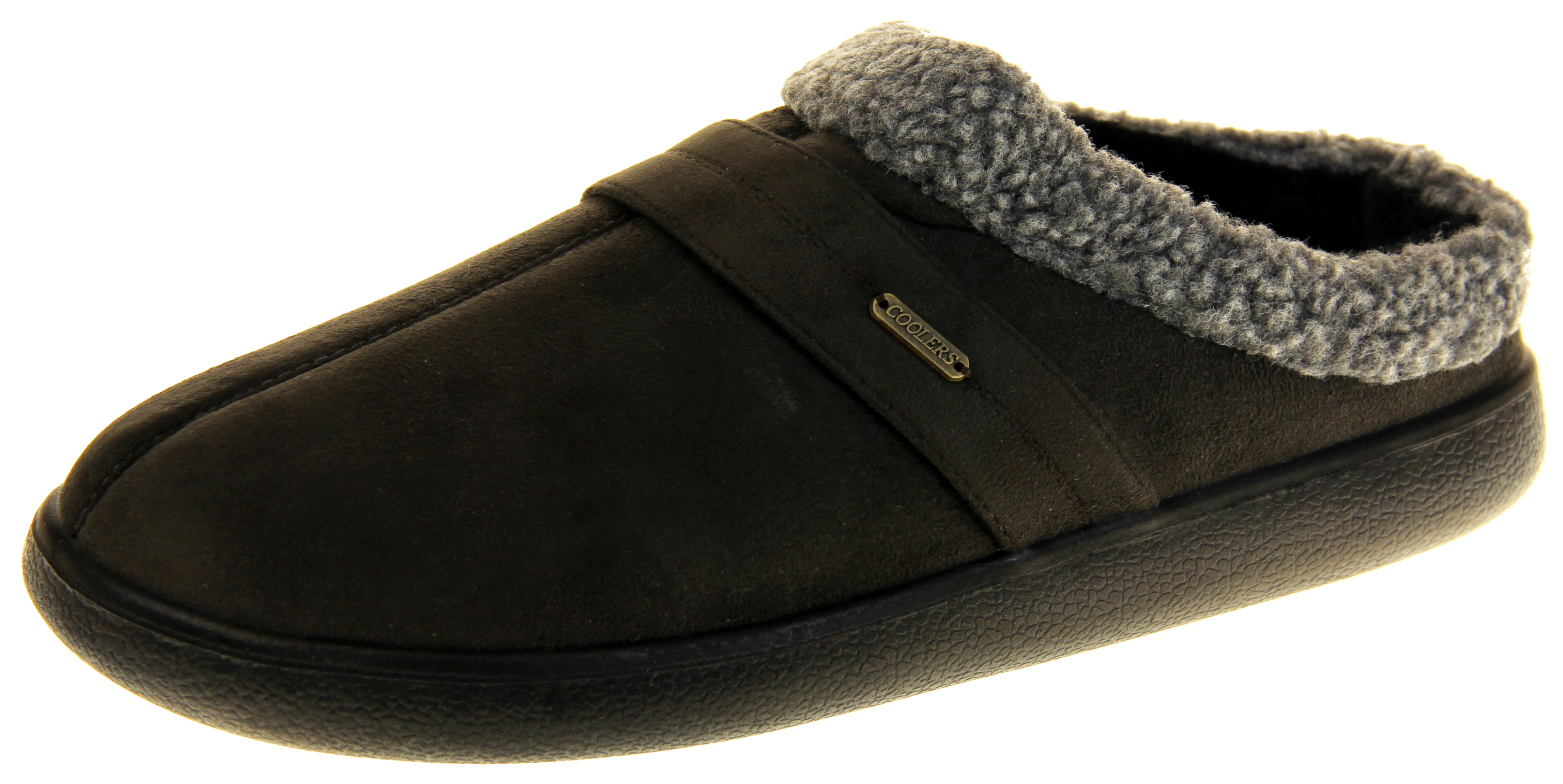 2161a23b3 Mens Coolers Synthetic Fur Mule Indoor Comfy Slippers | Womens, Mens, Kids  Shoes | Heels, Trainers & Boots | Footwear Studio