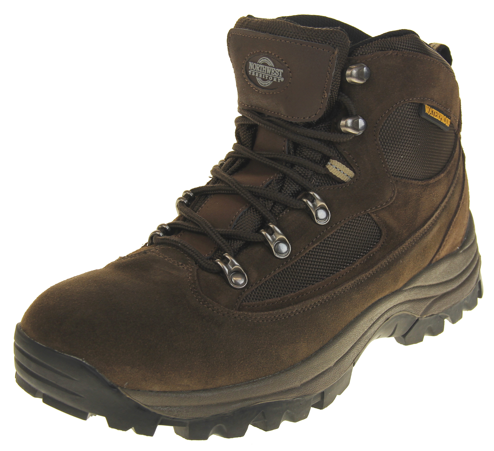 4109b7d3191 Mens Suede Northwest Territory Steel Toe Capped Waterproof Safety Work Boots