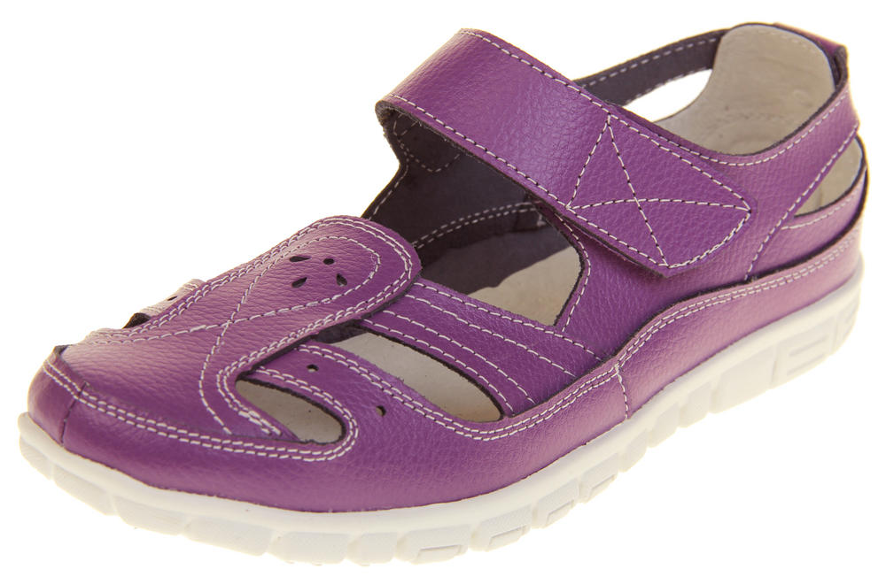 Womens Wide Fit EEE Leather Mary Jane Shoes
