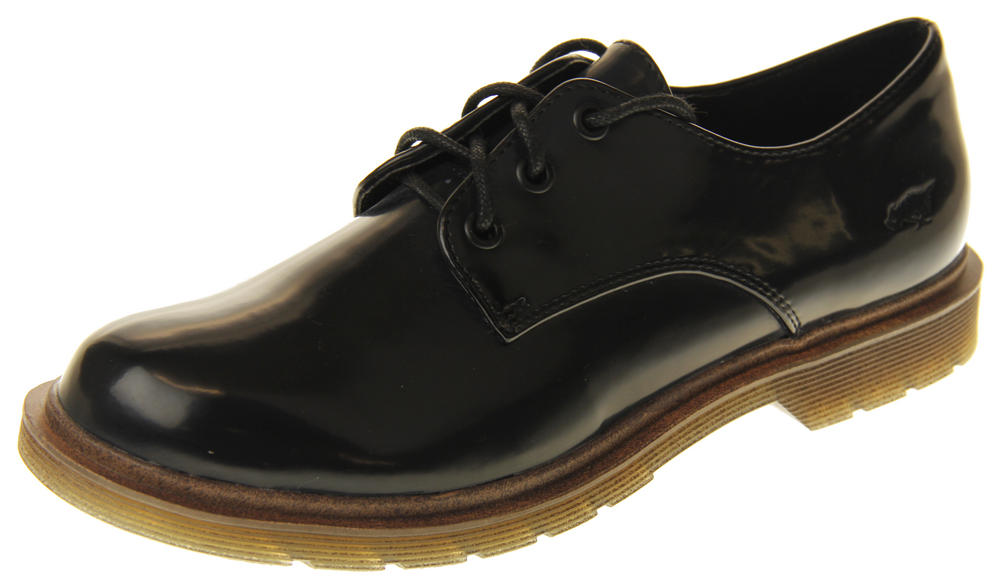 Womens Rocket Dog Patent Leather Oxford Lace Up Shoes