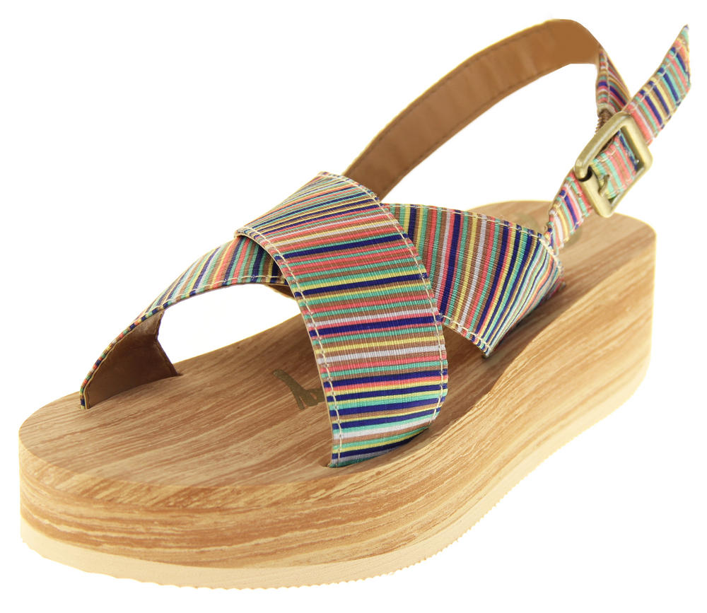 Womens Gilrs Rocket Dog Wedged Sandals