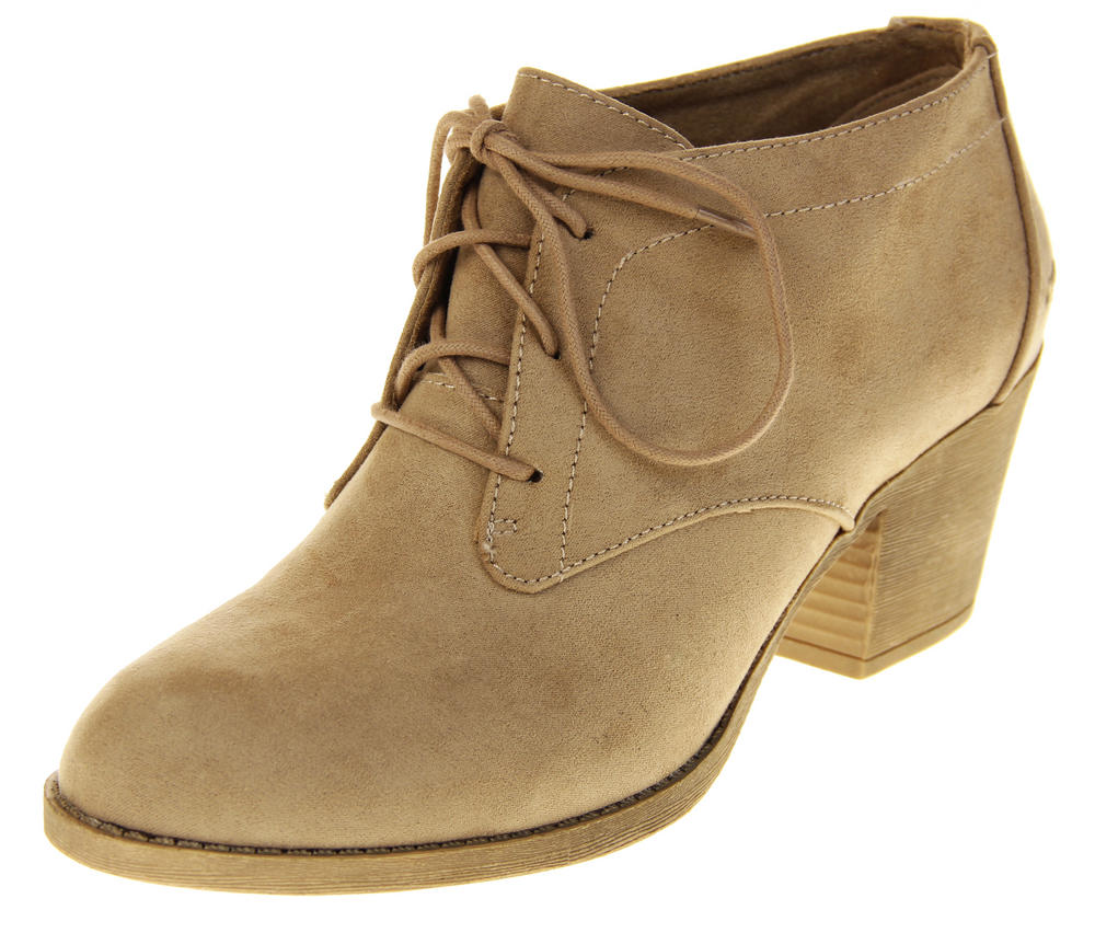 Womens Rocket Dog Tan Brown Medium Heel Synthetic Suede Boot Shoes