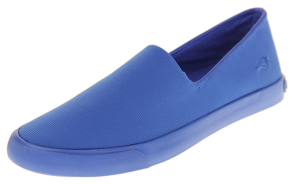 Womens Blue Rocket Dog Textile Flat Slip On Espadrilles Shoes