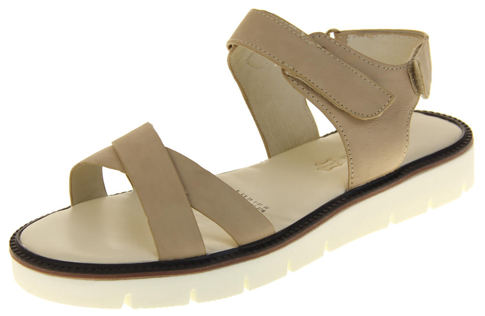Womens Ladies Keddo Leather Peep-Toe Summer Beach Sandal