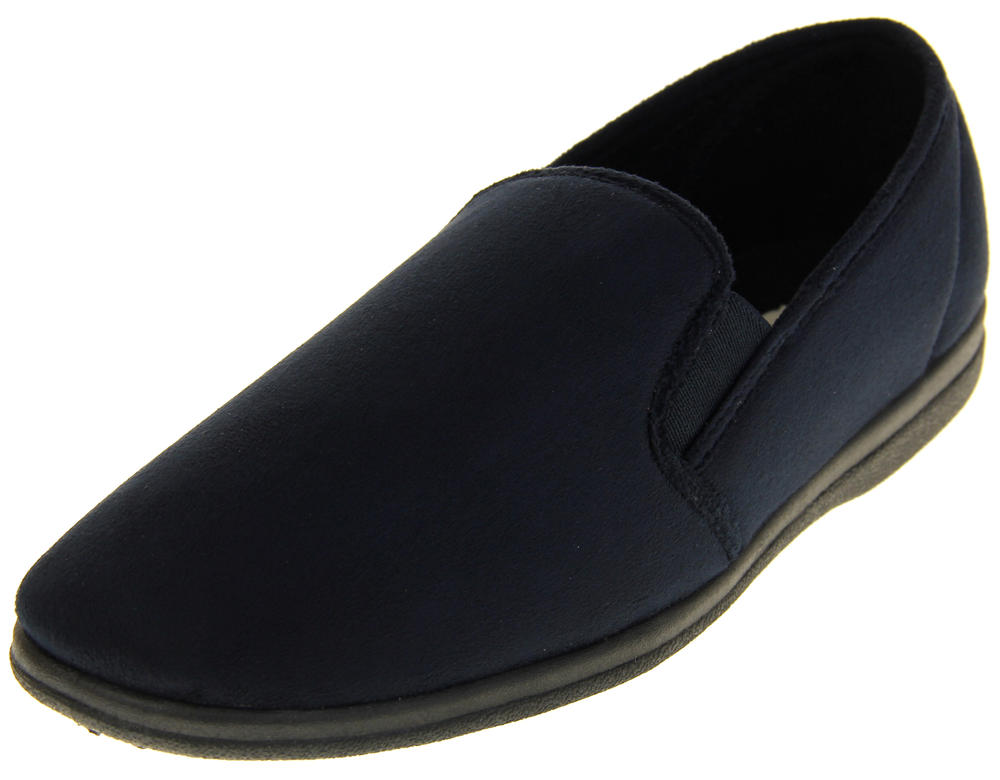 Mens Coolers Fleece Slipper Shoes