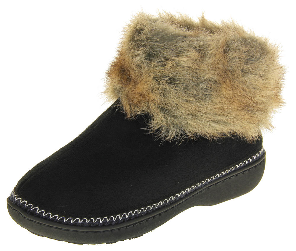 Womens Dunlop Rhea Boot Slippers