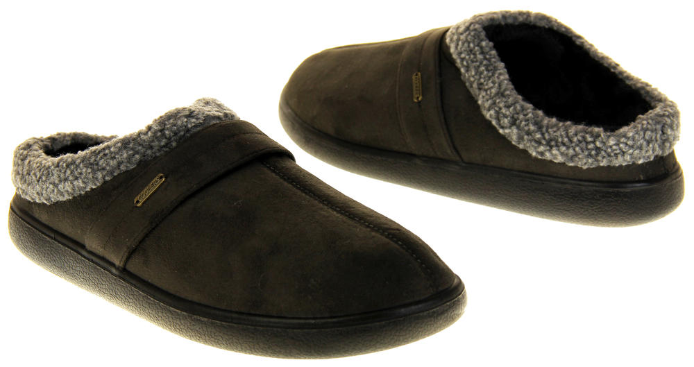 e2ce018e7 Mens Coolers Synthetic Fur Mule Indoor Comfy Slippers Thumbnail 12. Coolers.  21576423