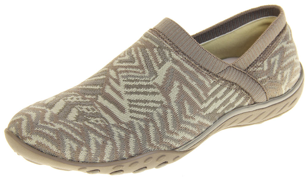 Womens Ladies Skechers Memory Foam Espadrille Loafer Trainers