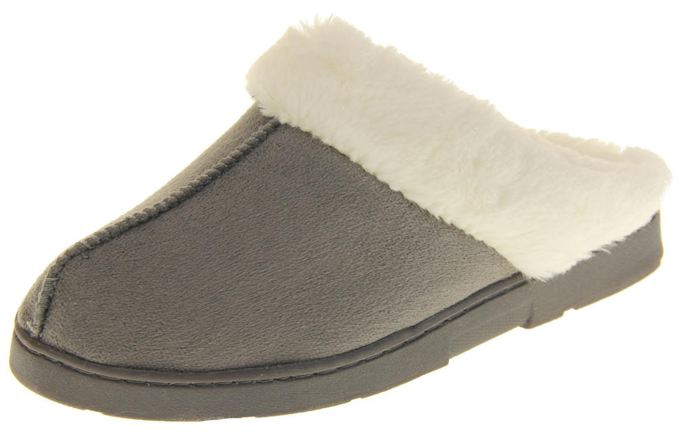 Womens Ladies Dr Keller Winter Warm Comfort Mule Slippers