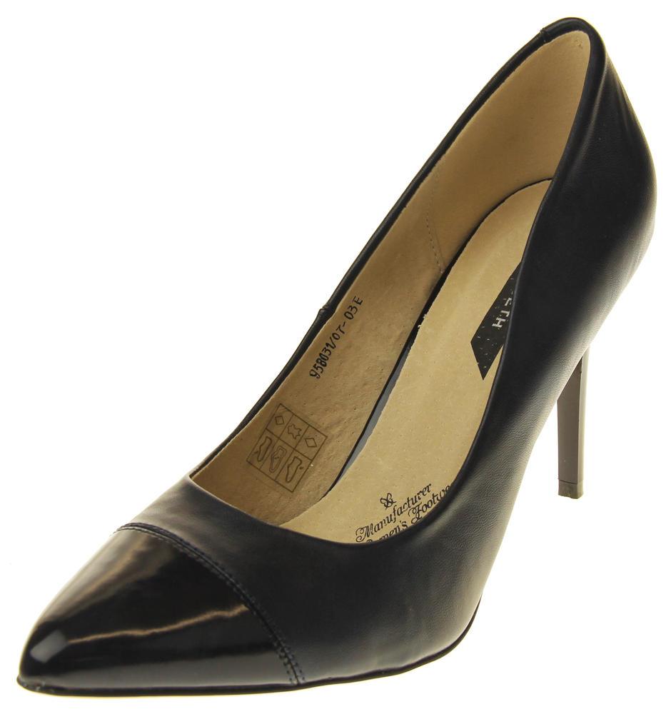 Womens Ladies Elisabeth Stilleto Court Shoes