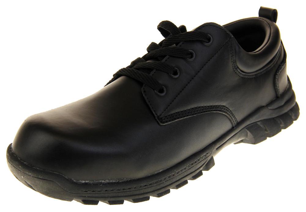 Mens Brickers Leather Waterproof Steel Toe Capped Safety Work Boots