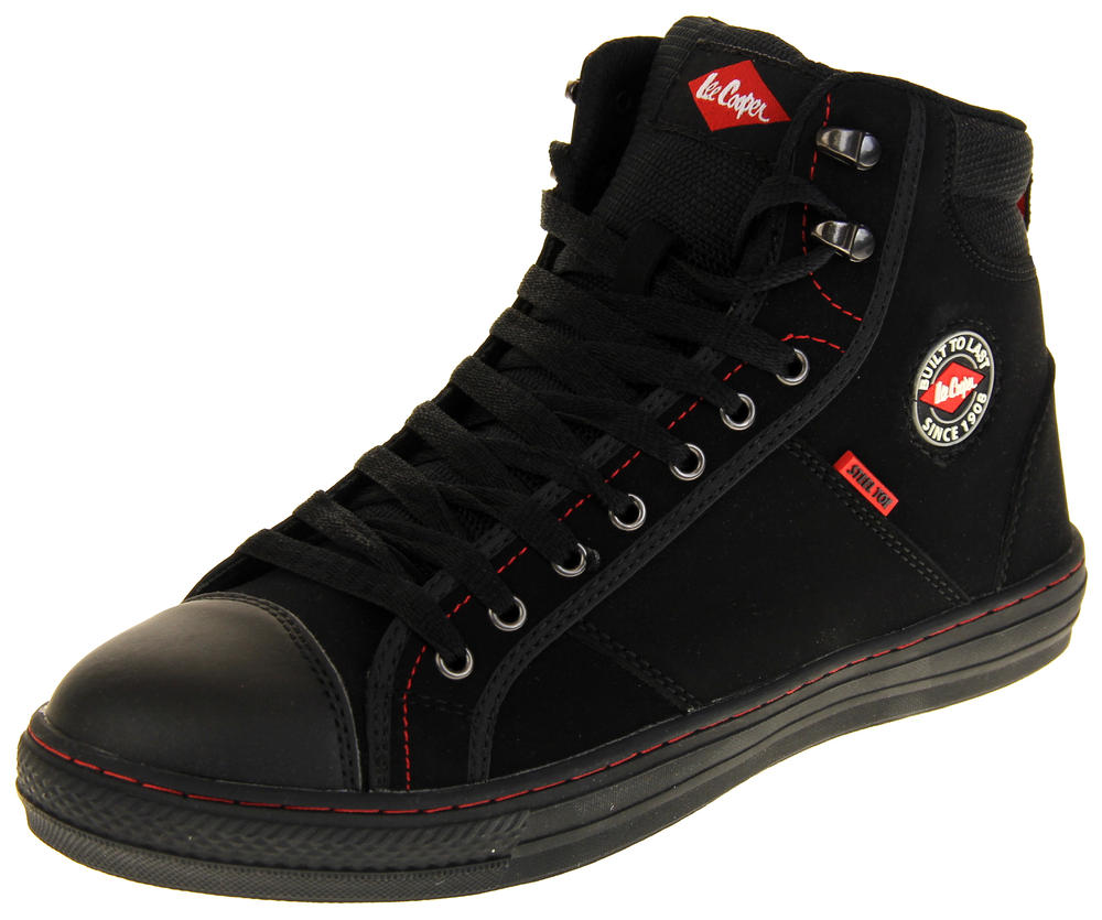 Mens Lee Cooper Steel Toe Cap Safety Boots