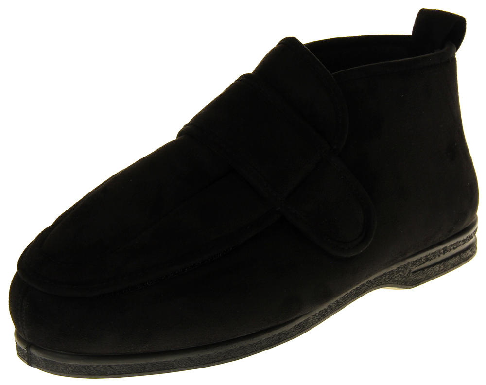 Mens Coolers EEE Extra Wide Fitting Orthopaedic Slipper Boots