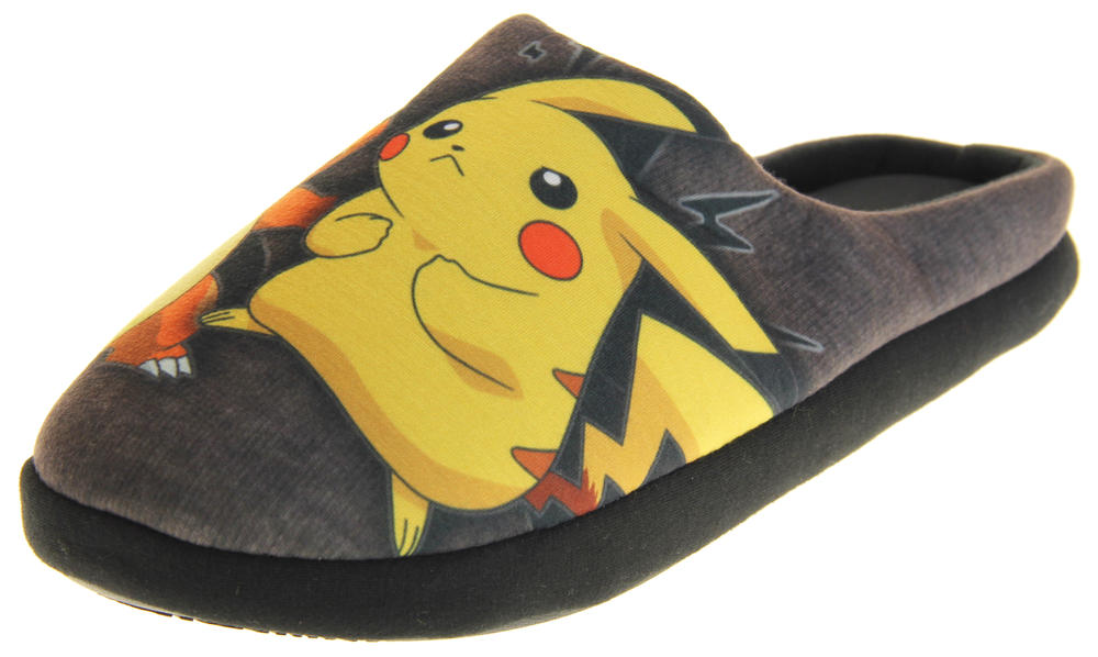 Mens Genuine Pokemon Mule Slippers