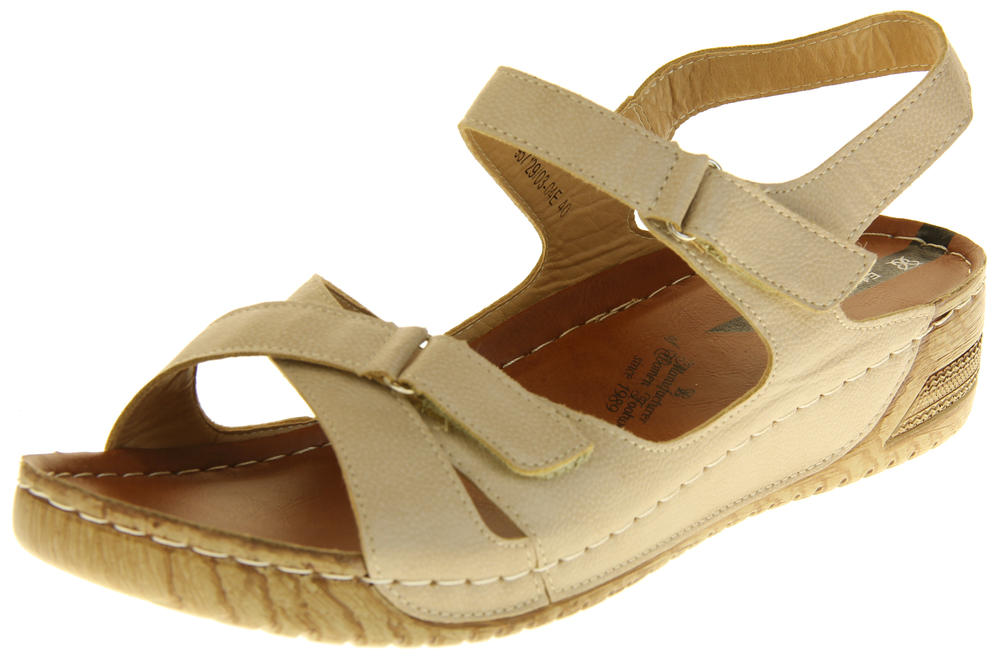 Womens Ladies Elisabeth Wedge Sandals