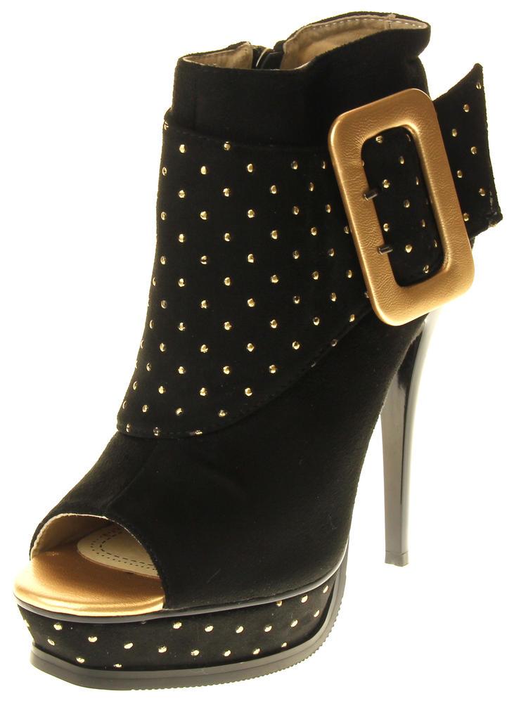 Womens Ladies Betsy Fashion Sandal High Heels