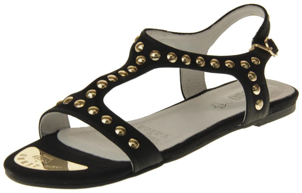 Womens Ladies Keddo Leather Summer Sandals