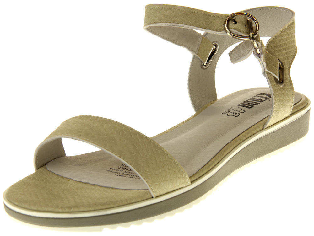 Womens Ladies Keddo Leaher Sandals