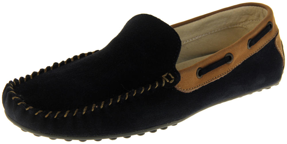 Womens Ladies Keddo Suede Leather Casual Boat Shoes