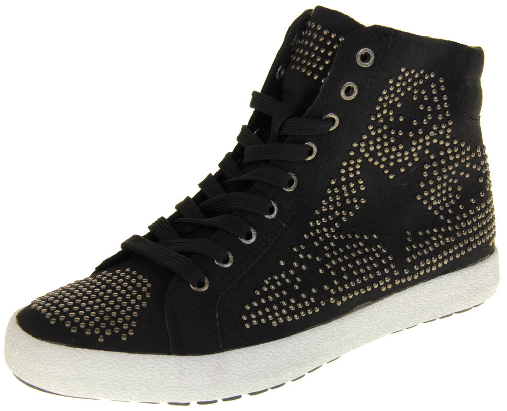 Womens Ladies Keddo Faux Suede Trainer Boots