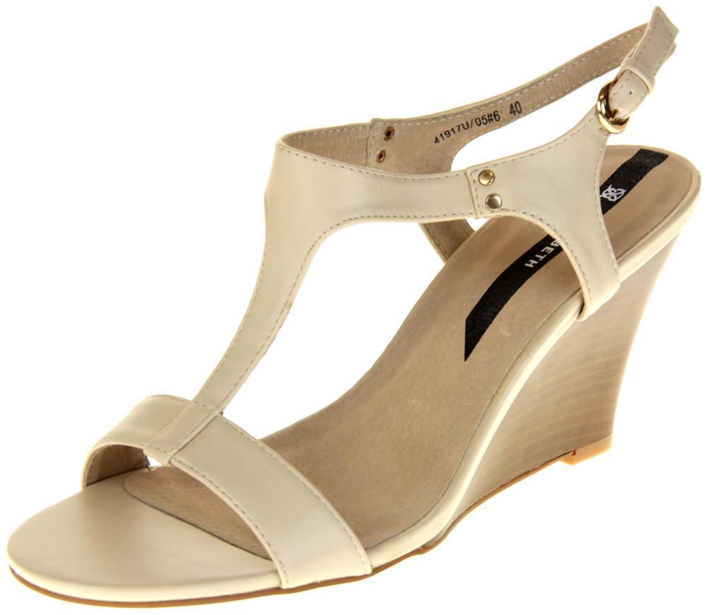 Womens Ladies Elisabeth Hidden Wedge Fashion Sandals