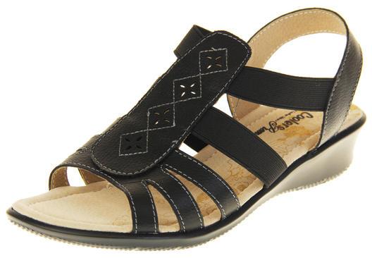 Ladies Coolers Premier Leather Slingback Summer Sandals