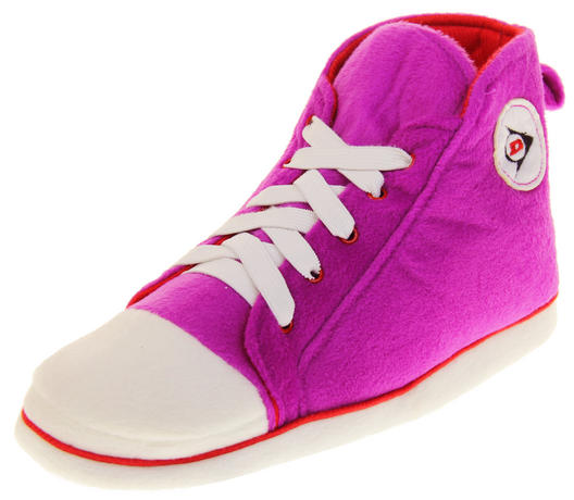 Womens Dunlop Trainer Boot Slippers