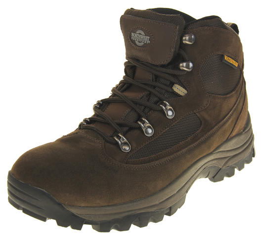 Mens Suede Northwest Territory Steel Toe Capped Waterproof Safety Work Boots