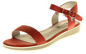 Womens Ladies Keddo Leather Designer Peep-Toe Summer Fashion Sandals Thumbnail 1