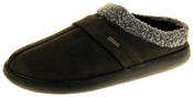 Mens Coolers Synthetic Fur Mule Indoor Comfy Slippers Thumbnail 1