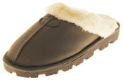 Womens Ladies Tyoti Synthetic Fur Cosy Warm Comfort Winter Slippers Thumbnail 1