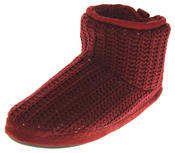 Mens Dunlop Warm Fuax Fur Lined Boot Slippers