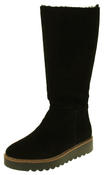 Womens 878175/10 Suede Leather Wool Lined Boots Thumbnail 1