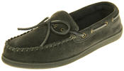 Mens Northwest Territory Leather Moccasin Slippers Thumbnail 1