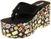 Womens Ladies Rocket Dog Flip Flops Platform Shoes Thumbnail 1