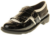 Womens Ladies Rocket Dog Faux Patent Leather Loafers Thumbnail 1