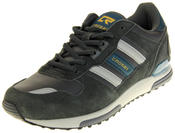 Mens Crosby Faux Suede Leather Sports Trainers Thumbnail 1