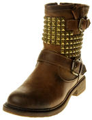 Womens Ladies Keddo Faux Leather Ankle Boots Thumbnail 1