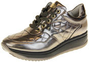 Womens Ladies Keddo Leather Trainers Thumbnail 1