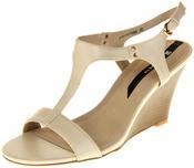Womens Ladies Elisabeth Hidden Wedge Fashion Sandals Thumbnail 1