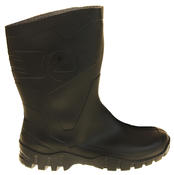 Mens Womens Calf Length Rubber Wellington Work Boots Thumbnail 3