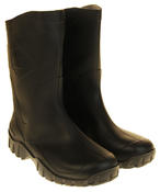 Mens Womens Calf Length Rubber Wellington Work Boots Thumbnail 5